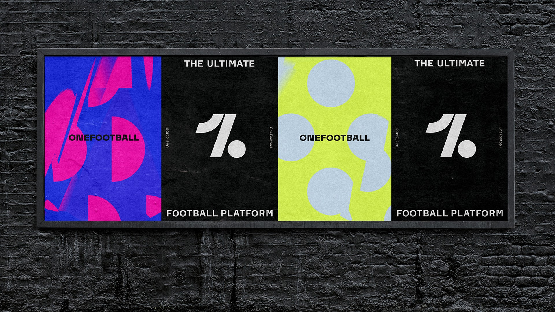 OneFootball identity by Design Studio