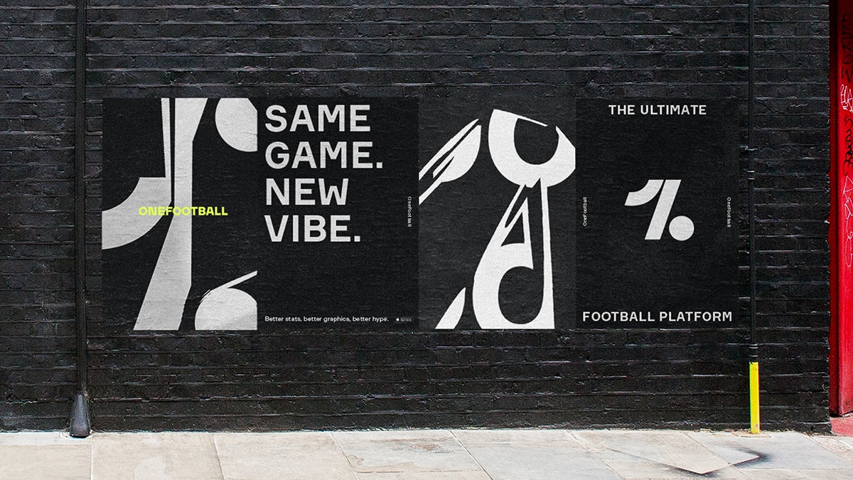 OneFootball identity by Design Studio