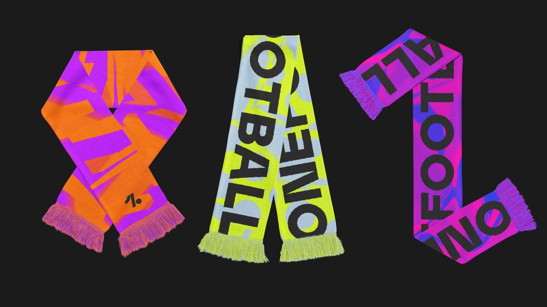 OneFootball merchandise by Design Studio