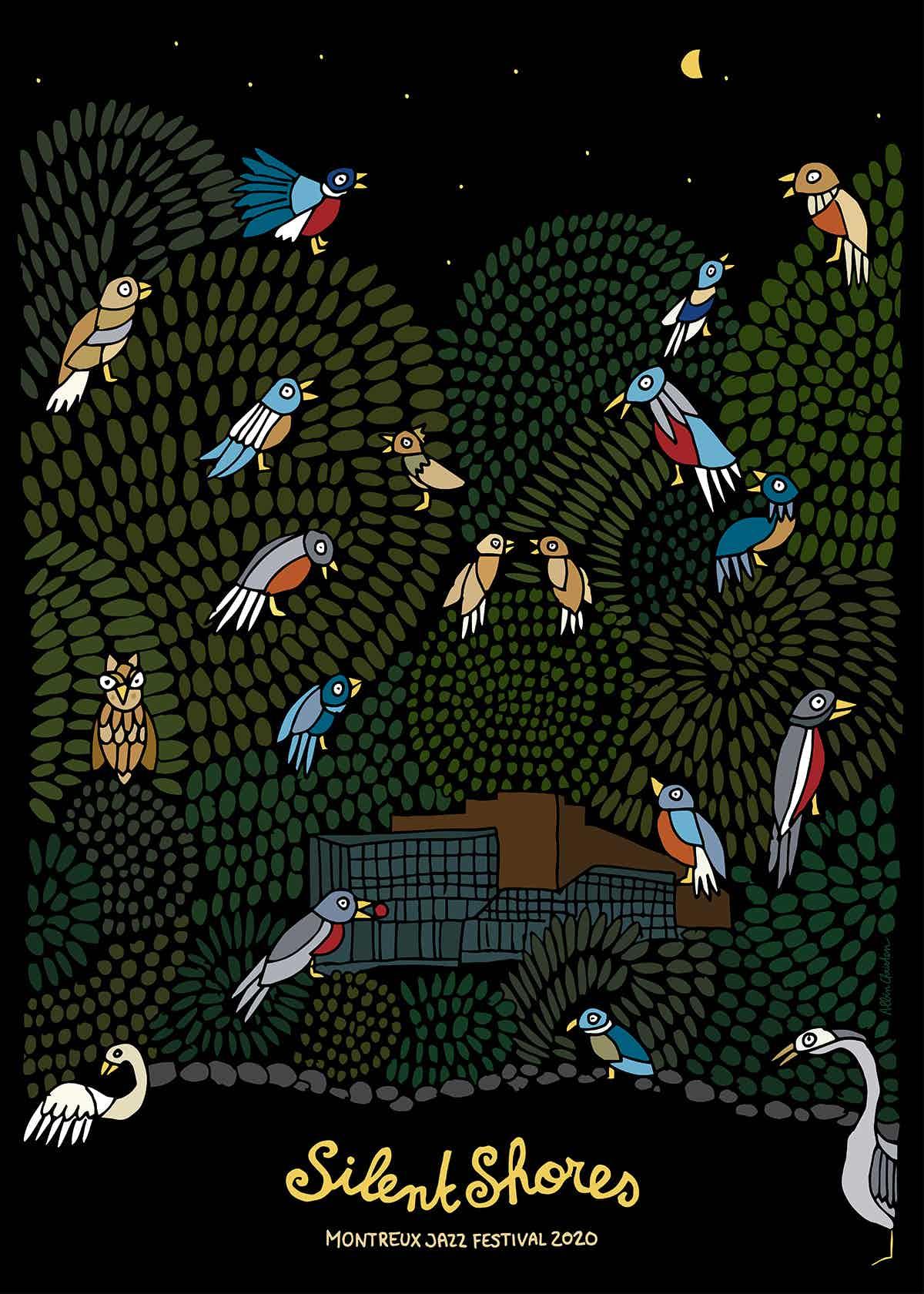 Montreux Jazz Festival poster