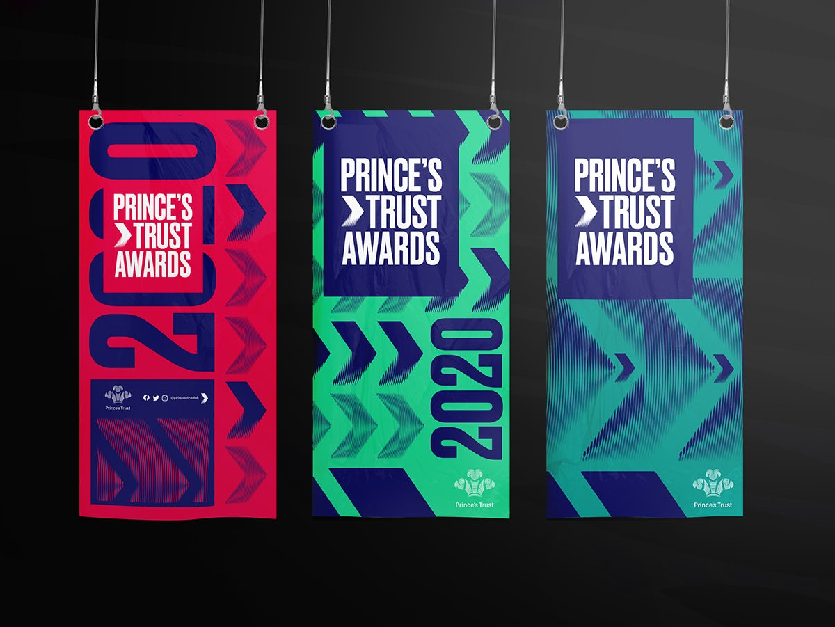 The Prince & # 39; s Trust charity branding