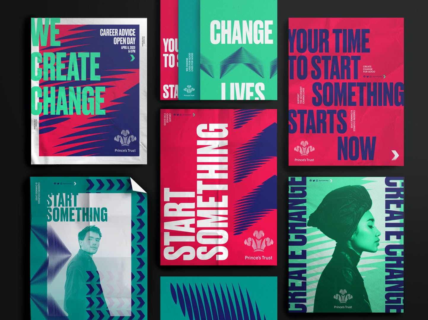 The Prince's Trust charity branding