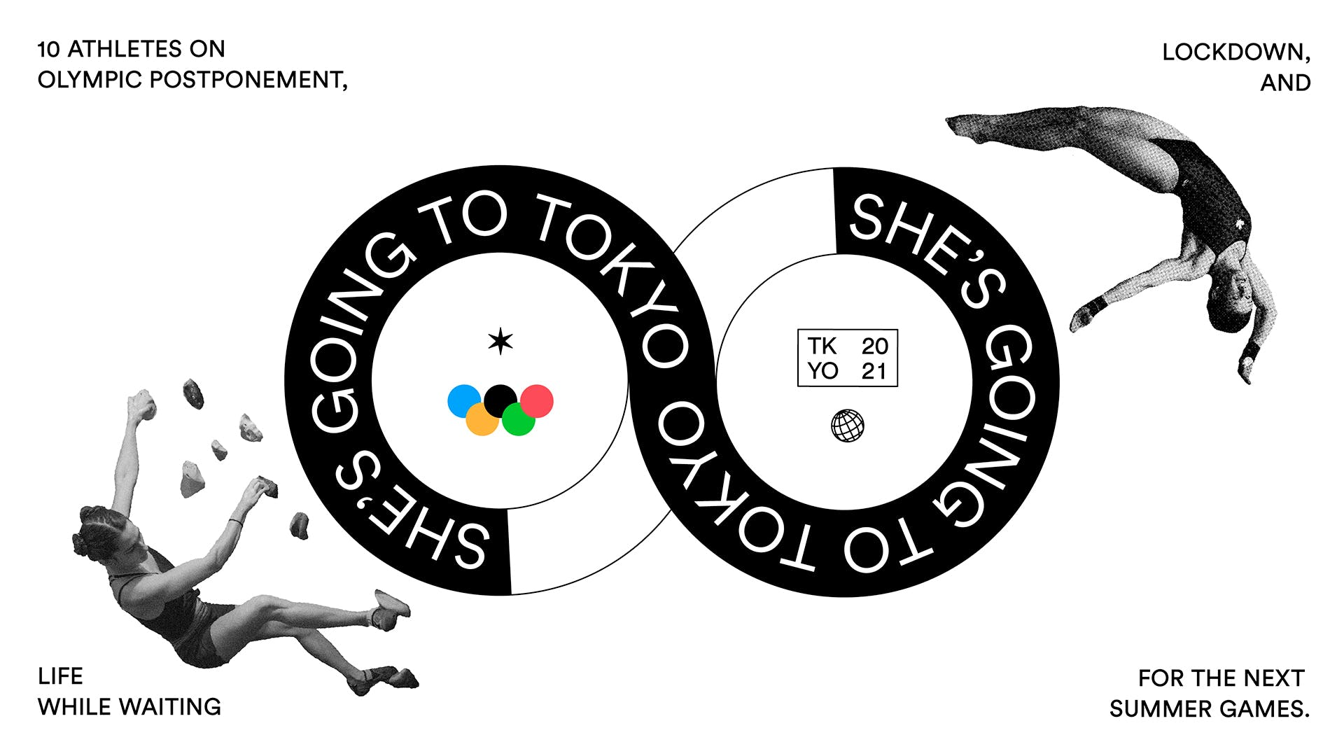 Olympics graphics She's Going to Tokyo