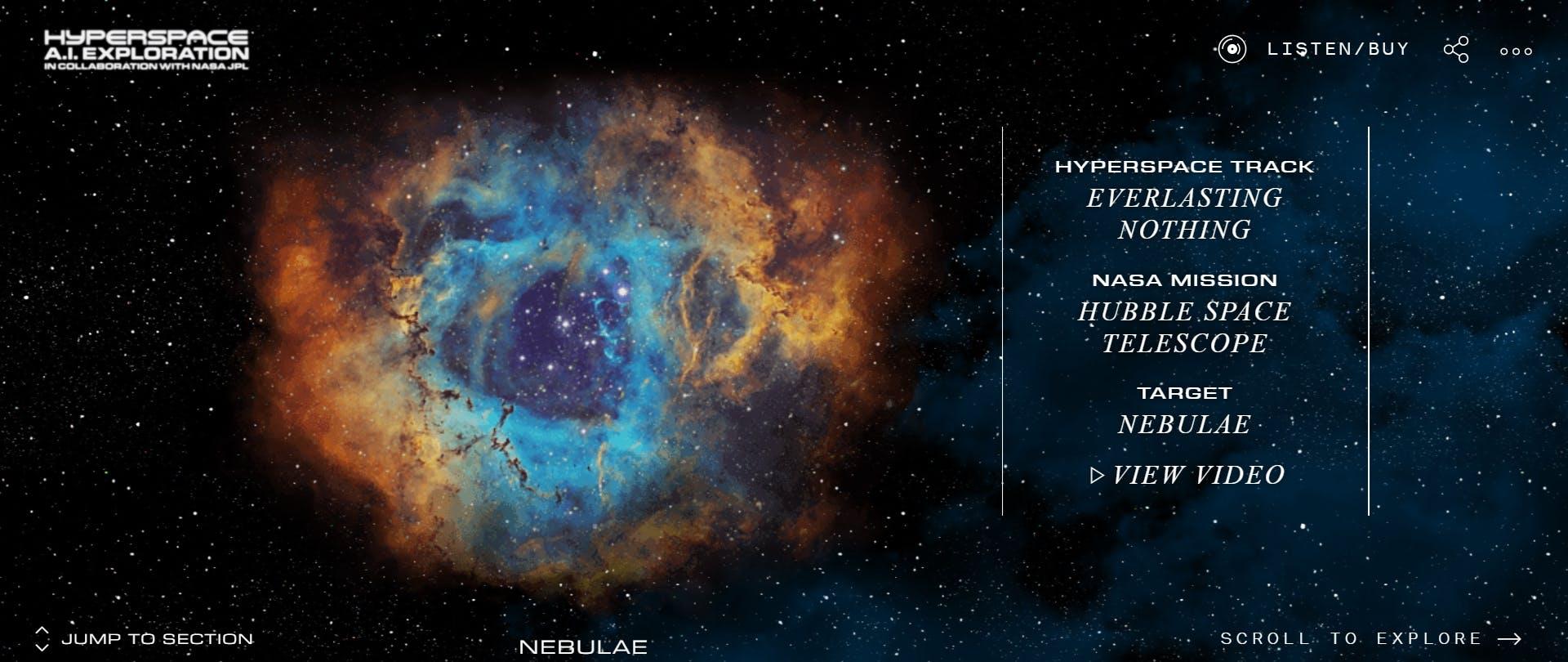 Beck NASA AI visual album