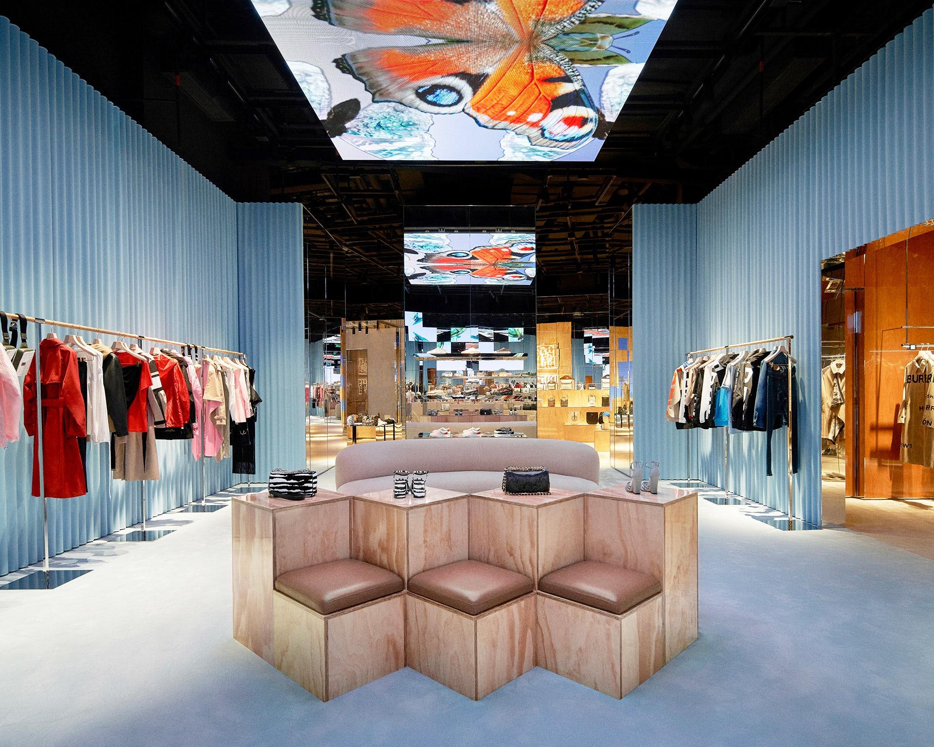 Burberry Shenzhen social retail store