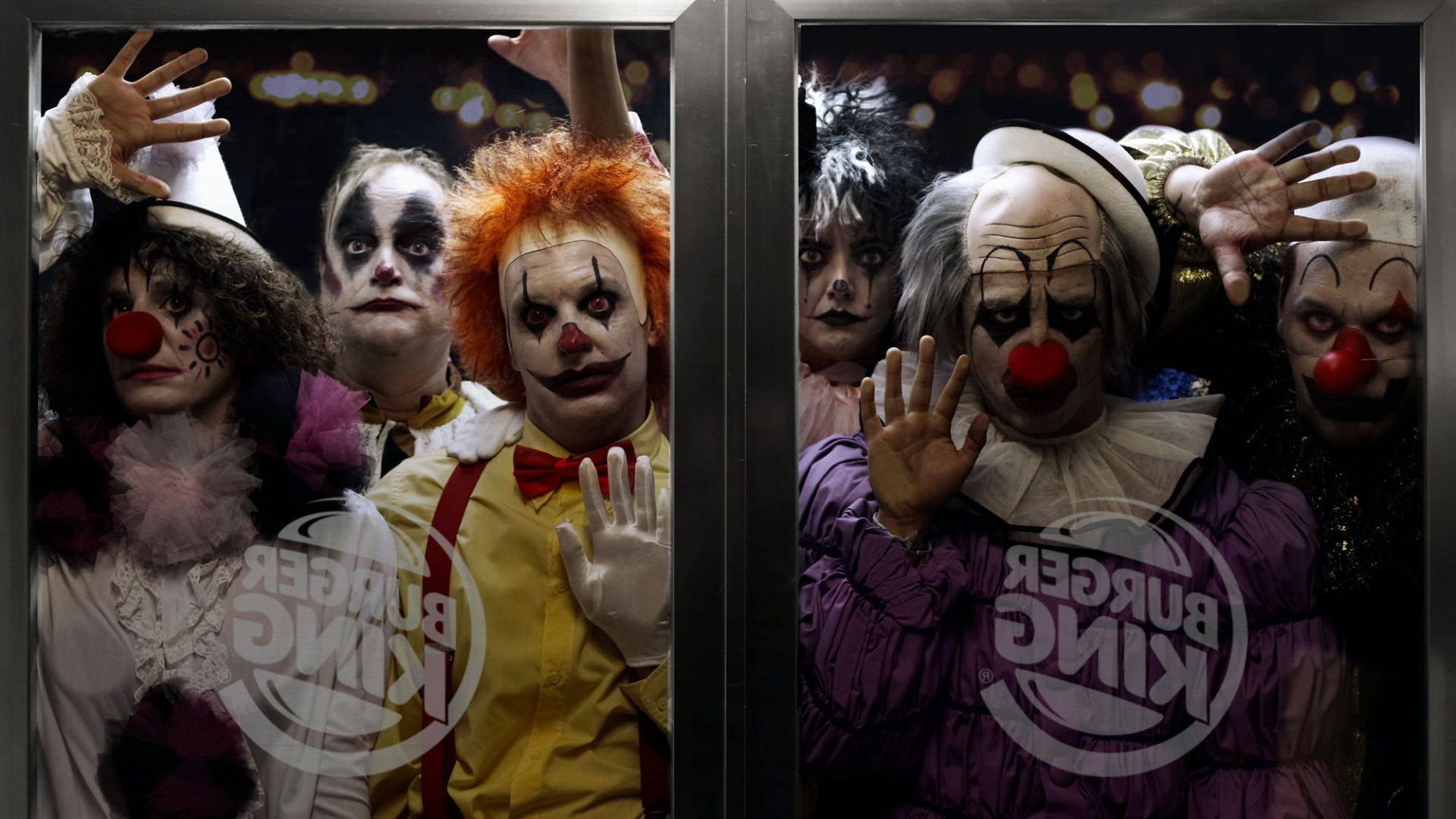 Burger King Scary Clown Night campaign