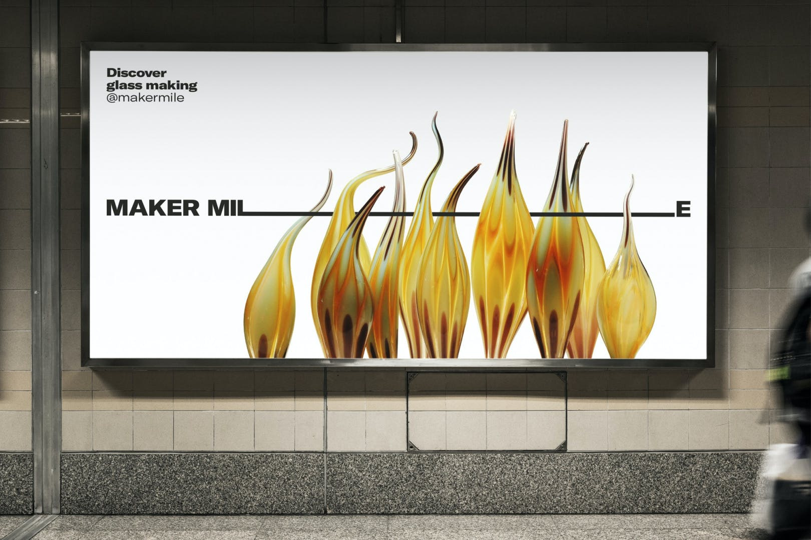 Maker Mile by Pentagram