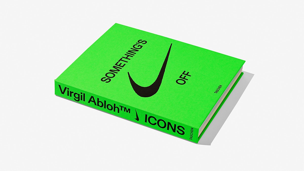 Cover of Icons book on Virgil Abloh