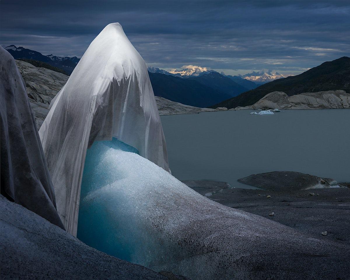 Simon Norfolk and Klaus Thymann capture a Swiss glacier slowly vanishing