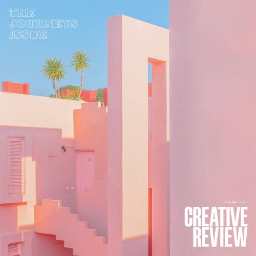 Creative Review Journeys issue cover